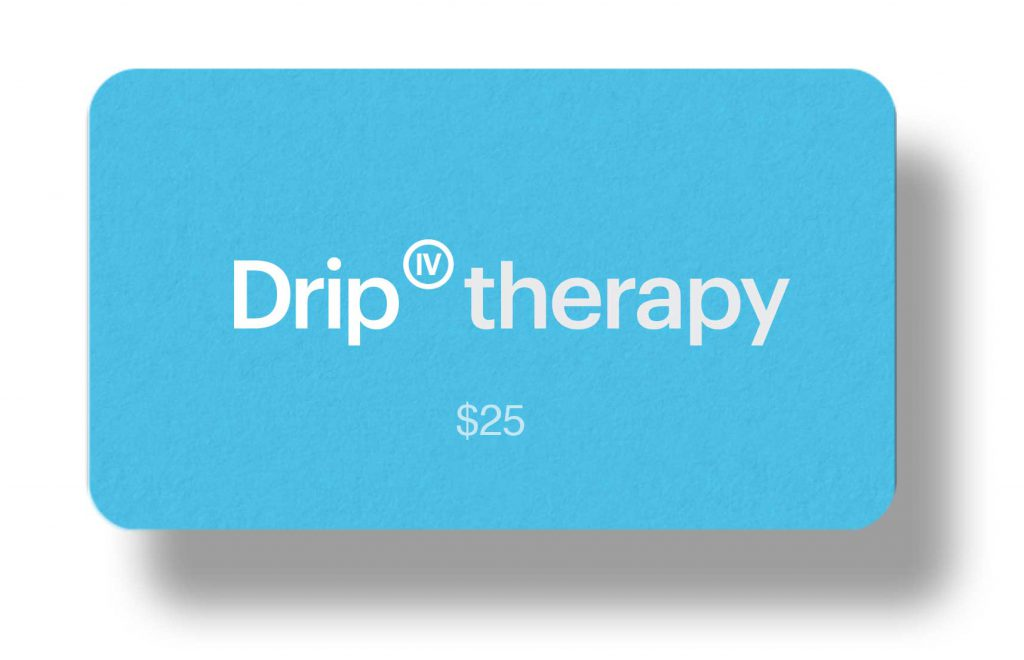 IV Therapy Los Angeles Gift Card $25 Amount