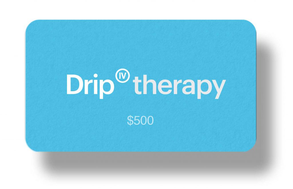 IV Therapy Los Angeles Gift Card $500 Amount